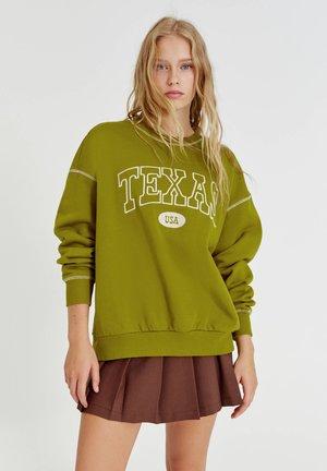 GRÜNES TEXAS - Sweatshirt - green