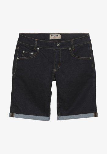 BOYS BASIC - Denim shorts - blue denim clean
