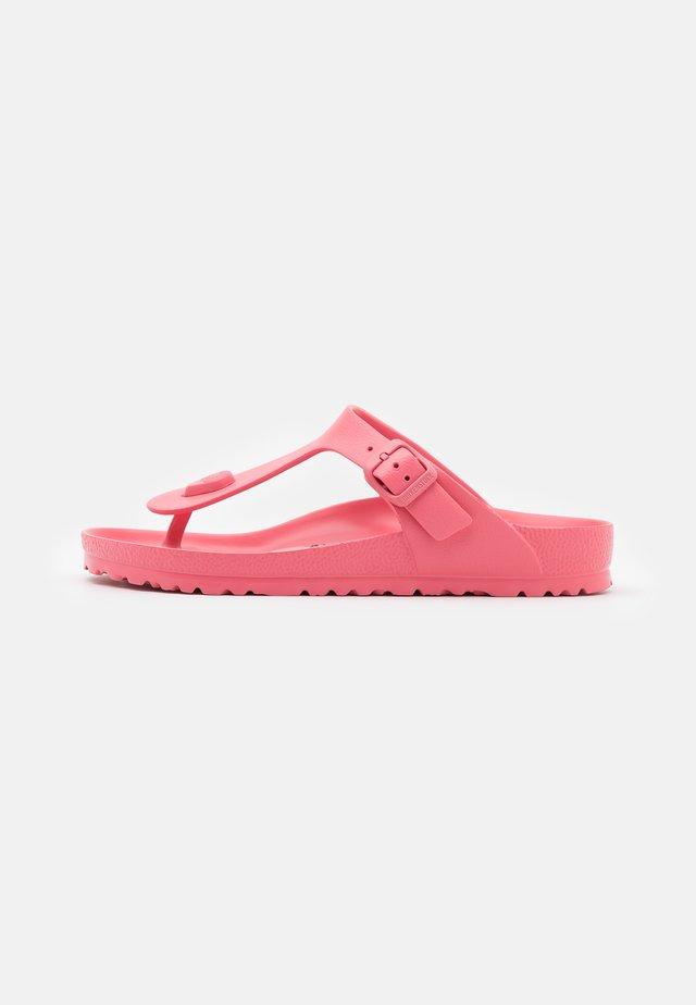 GIZEH - T-bar sandals - watermelon