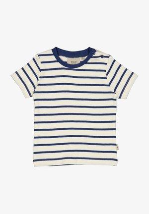 WAGNER - T-shirt print - cool blue