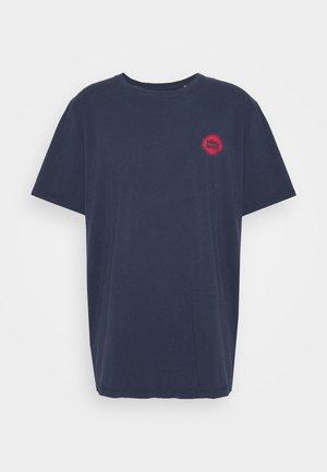 JORMIND TEE CREW NECK - T-shirt print - navy blazer