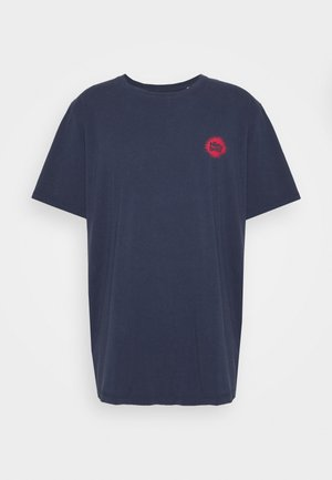 JORMIND TEE CREW NECK - T-shirt med print - navy blazer