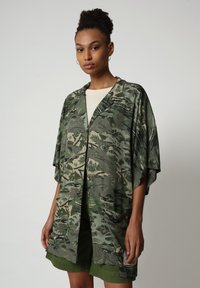 Napapijri - G-MAUI - Button-down blouse - camo green - 0