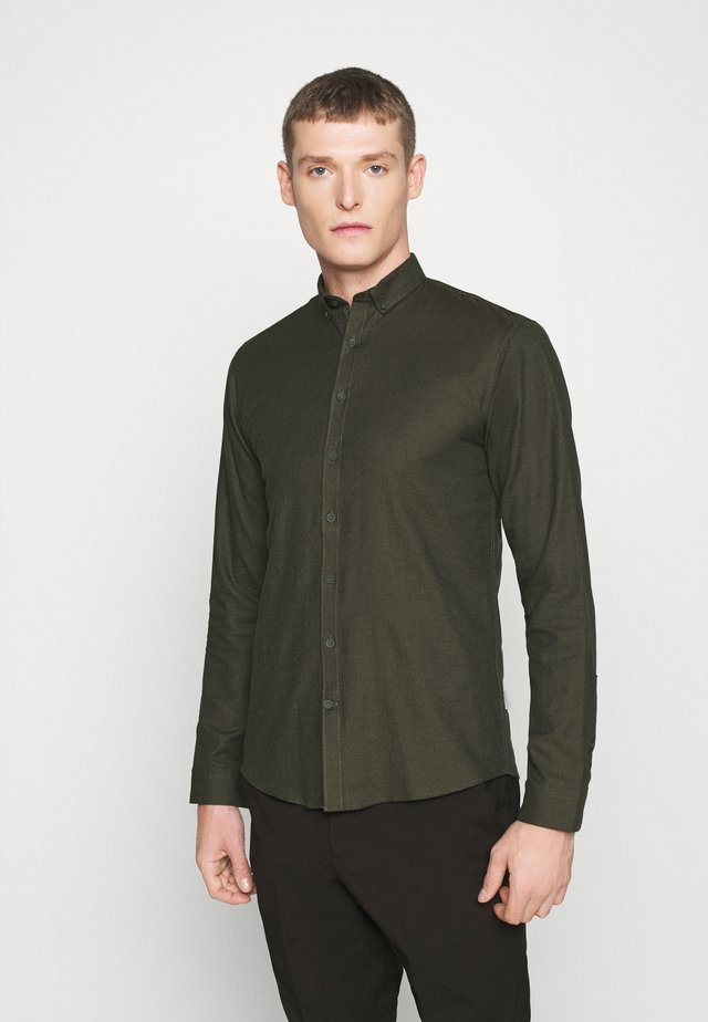 MOULINÉ STRETCH - Camisa - army