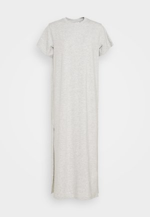 STROKE DRESS - Maxi dress - light grey