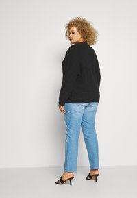 Anna Field - BAT SHAPE OVERSIZED - Neule - black - 2