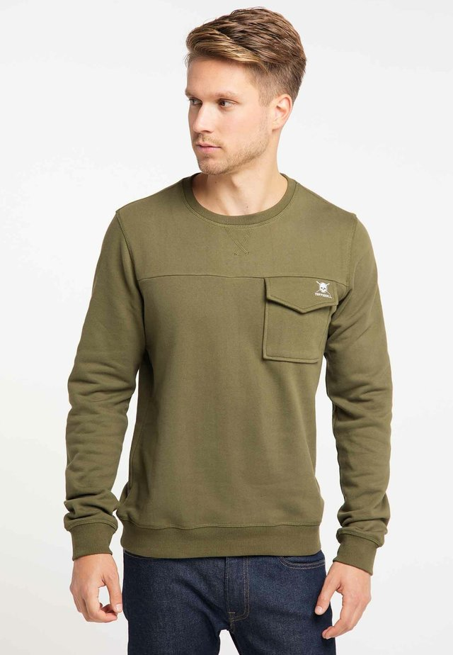 Sweater - olive