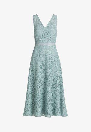 MIT SPITZE - Cocktail dress / Party dress - gray mist