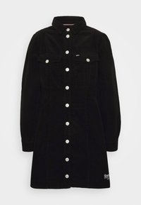 Tommy Jeans - FITTED DRESS - Shirt dress - black - 4