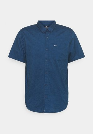 Shirt - navy solid