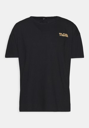 FLASHES ARNE - T-shirts print - black