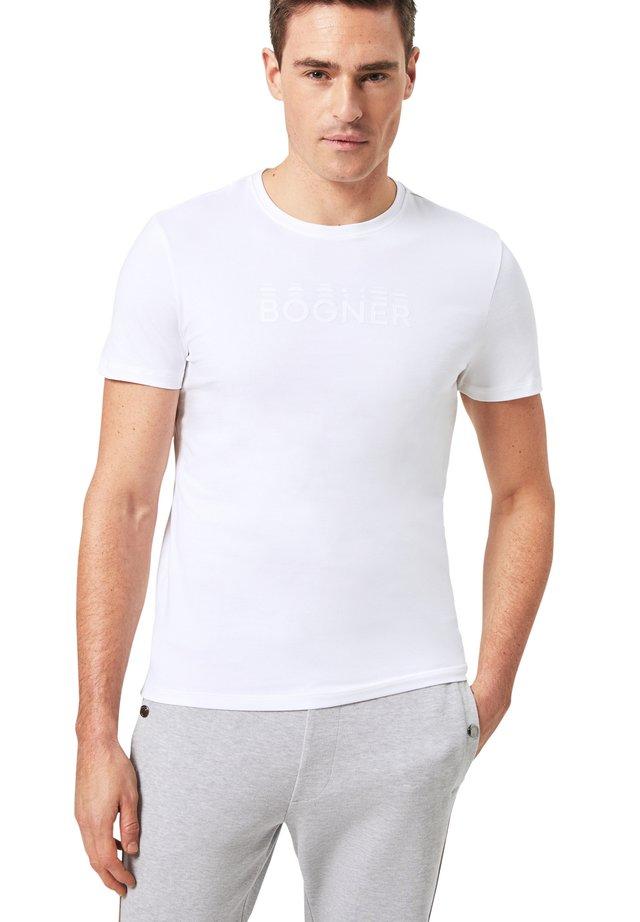ROC - T-shirt basique - weiß