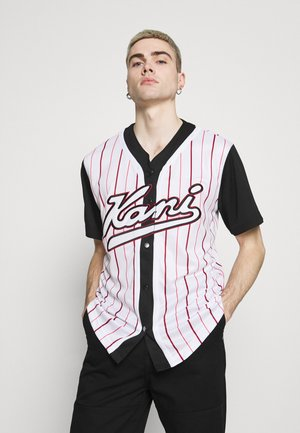 VARSITY BLOCK BASEBALL - Camicia - black