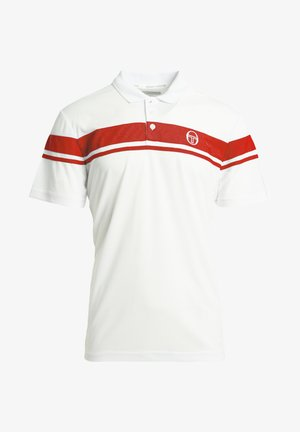 YOUNG LINE - Polo shirt - wht/red