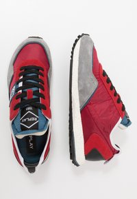 Replay - DRUM ROAD - Zapatillas - red/denim blue - 1