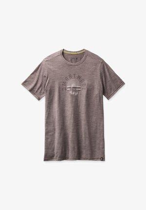 T-shirt print - sparrow heather