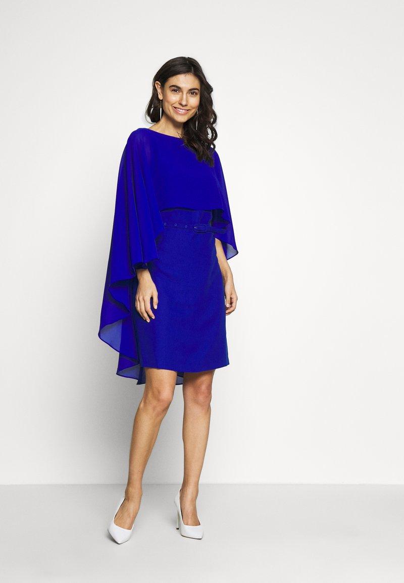 Pedro del Hierro - TUNIC DRESS - Cocktailjurk - dark blue