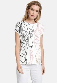 Gerry Weber - Print T-shirt - shell - 0