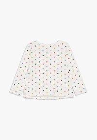 GAP - TODDLER GIRL LOGO  - Camiseta de manga larga - ivory frost - 1