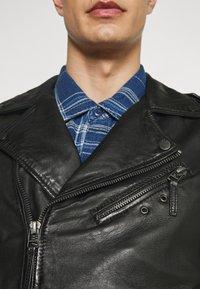 Oakwood - SOLDIER - Leather jacket - black - 7
