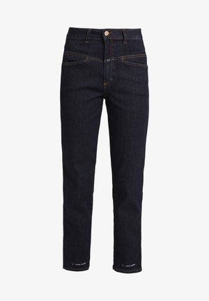 PEDAL PUSHER - Relaxed fit jeans - dark blue