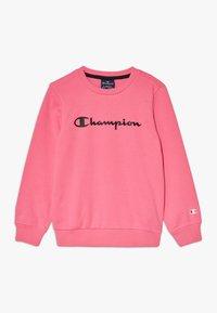 Champion - LEGACY AMERICAN CLASSICS FLUO CREWNECK  - Mikina - neon pink - 0