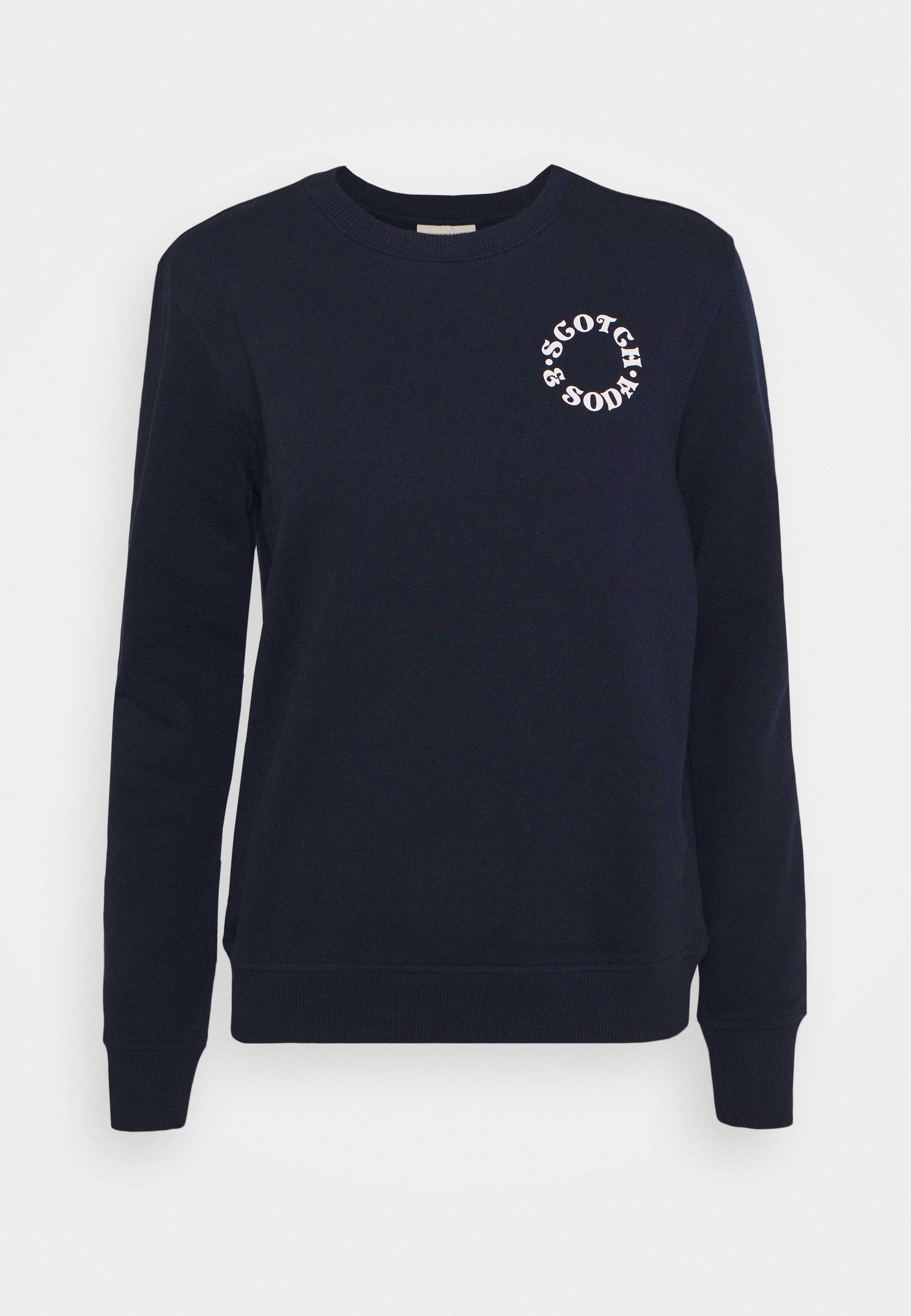 Women EASY CREWNECK WITH GRAPHIC - Sweatshirt