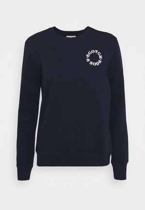 EASY CREWNECK WITH GRAPHIC - Sweatshirt - night