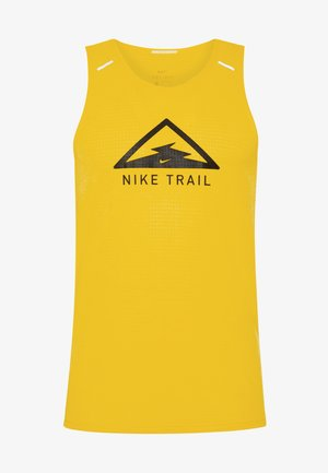 RISE 365 TANK TRAIL - Camiseta de deporte - speed yellow/black