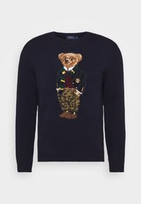 Polo Ralph Lauren - BLEND - Strickpullover - dark blue/multicolor - 6