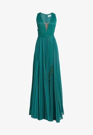 Společenské šaty - smeraldo