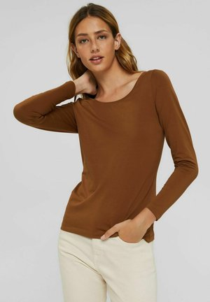 CORE NOOS OCS T - Long sleeved top - toffee