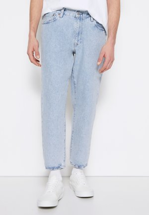 STAY LOOSE TAPER CROP - Jeans baggy - royal stonewash