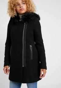 Vero Moda Petite - Frakker / klassisk frakker - black - 4