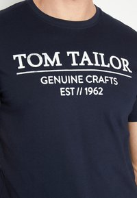 TOM TAILOR - Print T-shirt - sky captain blue - 5