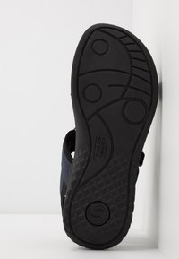 camel active - TREK - Trekkingsandale - midnight/black - 4