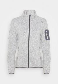 CMP - Fleece jacket - gesso melange/graffite - 3