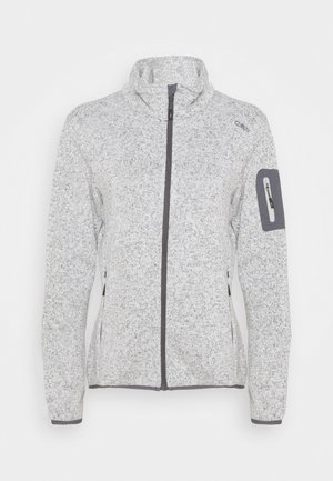 Fleece jacket - gesso melange/graffite