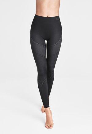 Leggings - Trousers - black/ash
