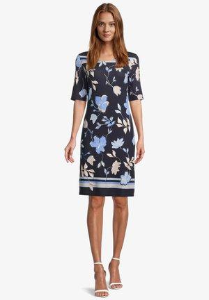 Korte jurk - dark blue beige