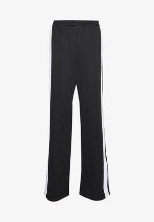 SAMAH TRACK PANT - Pantaloni sportivi - black/bright white