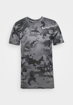 DRY TEE - Camiseta estampada - smoke grey/grey fog