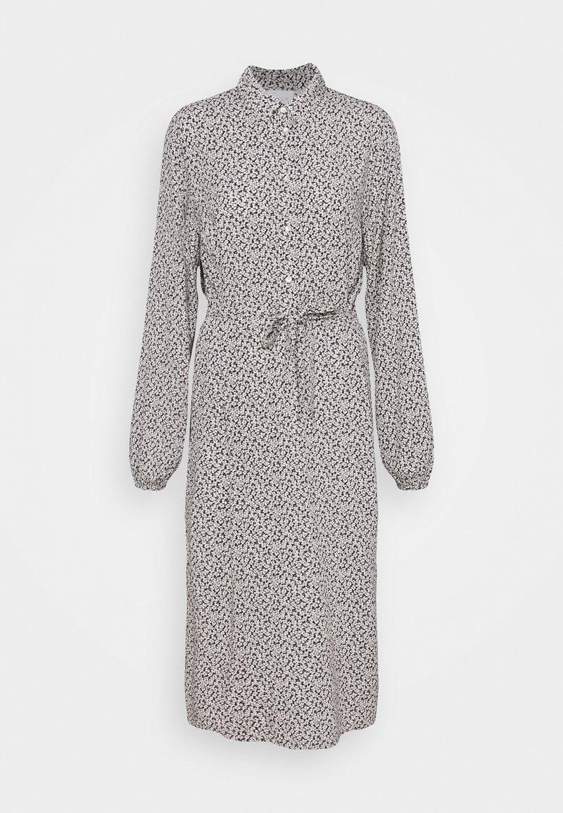 VILA TALL - VIZUGI MIDI DRESS - Robe chemise - navy blazer
