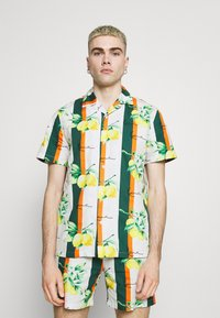 Karl Kani - CHEST SIGNATURE RESORT - Shirt - white - 0