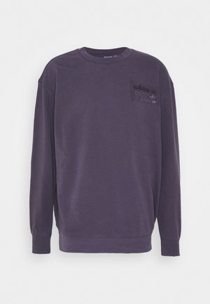 OVERDYED CREW - Sweatshirt - purple
