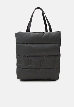 MUSEO SOFT LARGE UNISEX - Torba na zakupy - anthracite dark/black