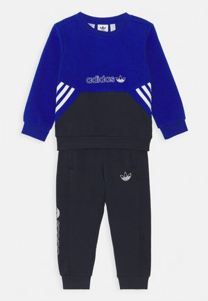 TRACKSUIT COLLECTION PRIMEGREEN ORIGINALS - Huvtröja med dragkedja - team royal blue/legend ink