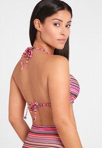 Homeboy Beach - KUBA - Bikini top - salmon - 2