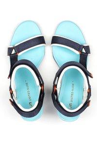 United Nude - AURA - High heeled sandals - blue beat - 3