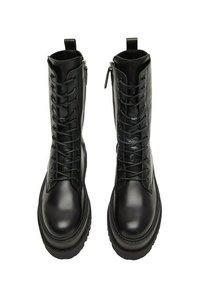 Mango - MONET - Lace-up ankle boots - schwarz - 2